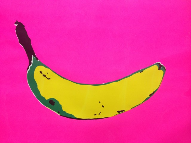 Three Bananas - 36x48 Silkscreen prints
